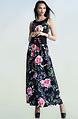 Дълга флорална рокля