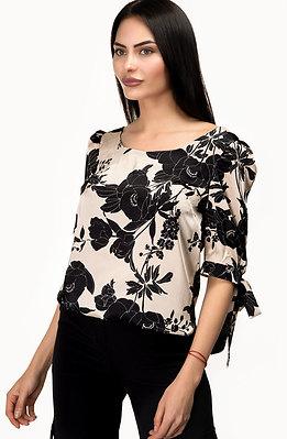 Дамска блуза от сатен