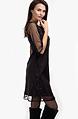 Коктейлна рокля трапец с тюл