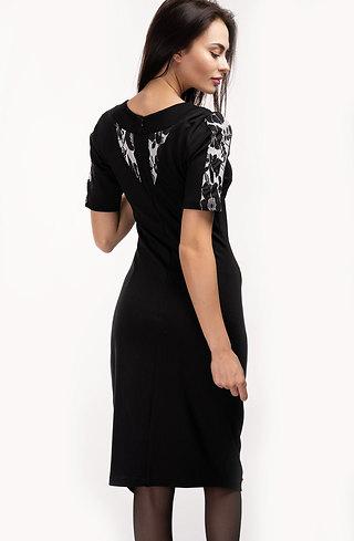 Стилна асиметрична рокля