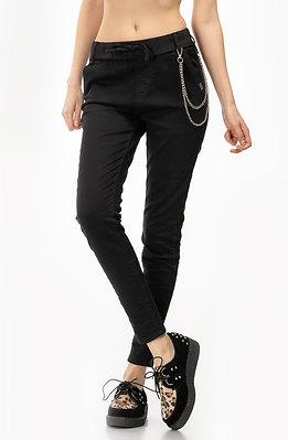 Спортно-елегантен панталон с аксесоар