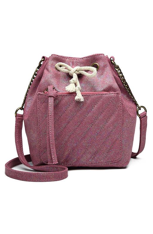 Дамска чанта с блестящ ефект