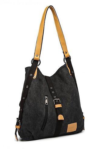 Мултифункционална чанта-раница от текстил