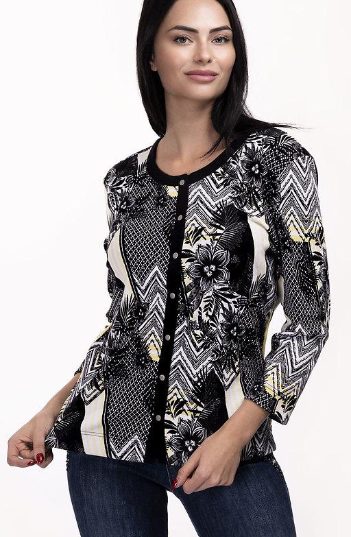 Блузка с принт