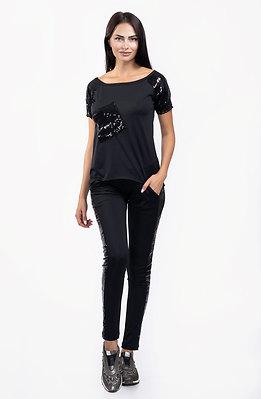 Комплект от панталон и блузка с пайети