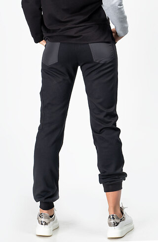 Спортен панталон с акцент от промазка