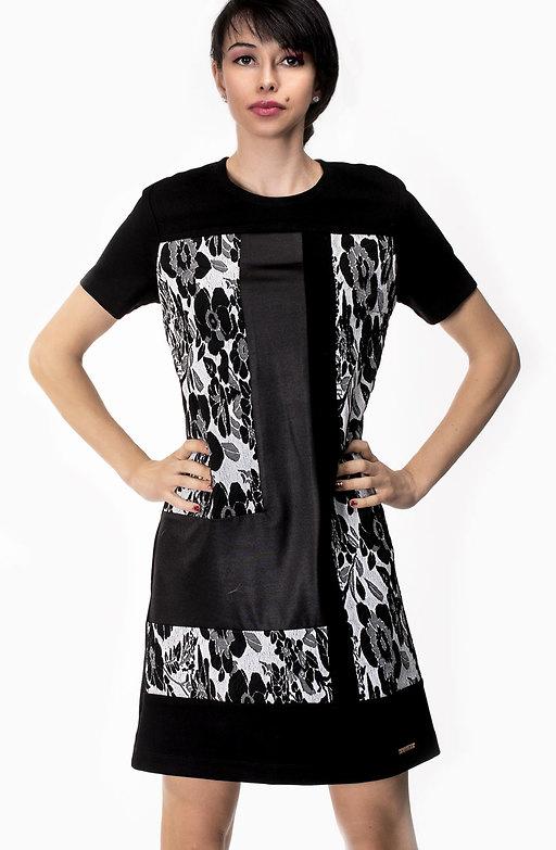 Стилна рокля трапец