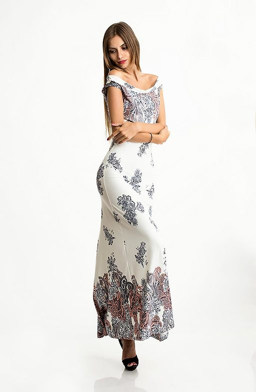 Дълга рокля от трико IV