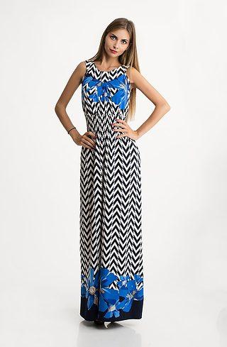 Дълга рокля от трико V
