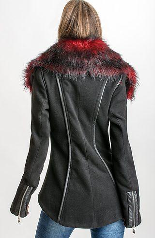 Късо палто от кашмир