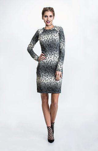 Къса рокля от плетиво II