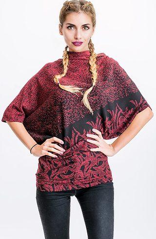 Асиметрична туника от плетиво I