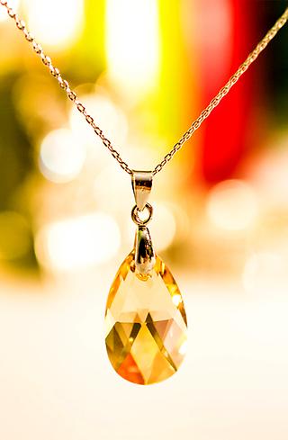 Колие с кристал сваровски