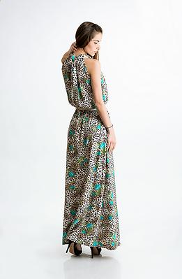 Дълга рокля от памук