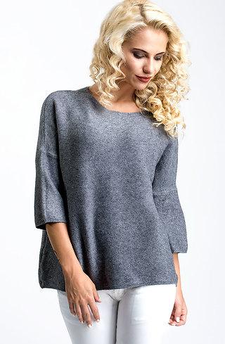 Блуза от плетиво с 7/8 ръкав