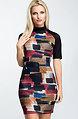 Къса рокля от памучно трико