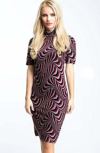 Къса рокля от кашмир