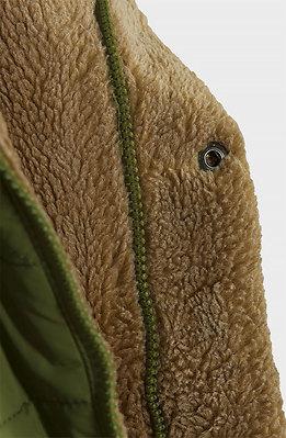 Ватирано яке в зелено