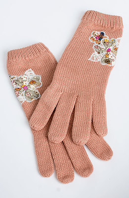 Ръкавици с декорация I