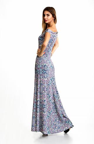 Дълга трикотажна рокля I