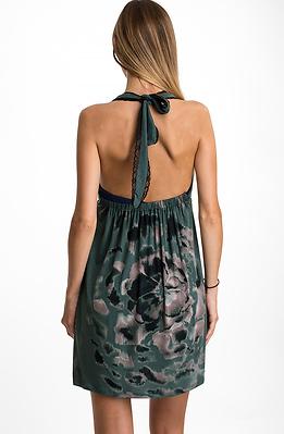 Къса рокля от трико