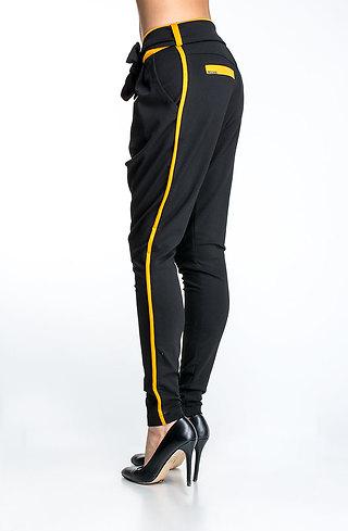 Панталон тип потур с кант горчица