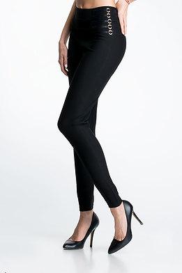 Елегантен панталон тип клин с висока талия