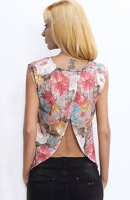 Блуза с прехвърляне II