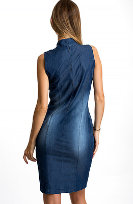Бизнес рокля от деним