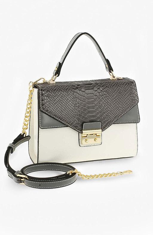 Луксозна мини чанта Snakeskin