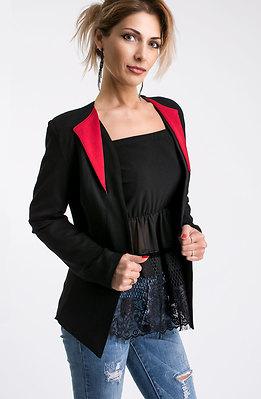 Елегантно сако в черно