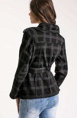 Дамски къс шлифер
