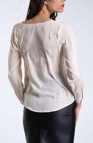 Елегантна риза от сатен