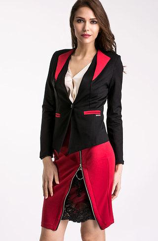 Елегантен комплект от сако и пола lI