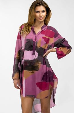 Риза-туника в лилаво