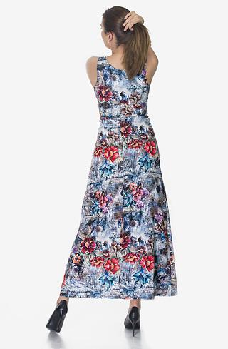 Дълга рокля тип бюстие