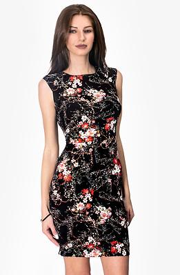 Къса рокля по тялото