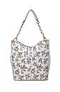Дамска чанта от еко кожа в бяло