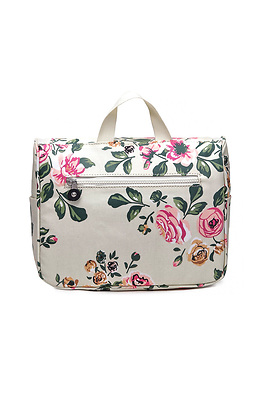Дамска чанта с флорални мотиви
