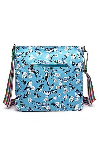 Дамска чанта от текстил с принт