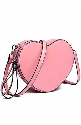 Мини чанта в розово