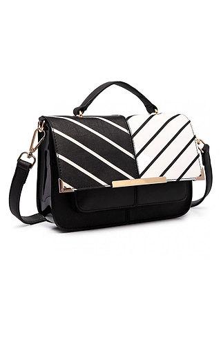 Дамска двуцветна чанта 1