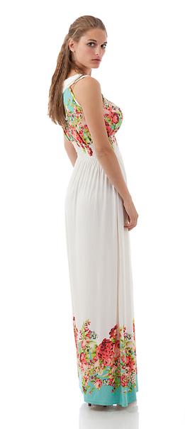 Дълга рокля от трико