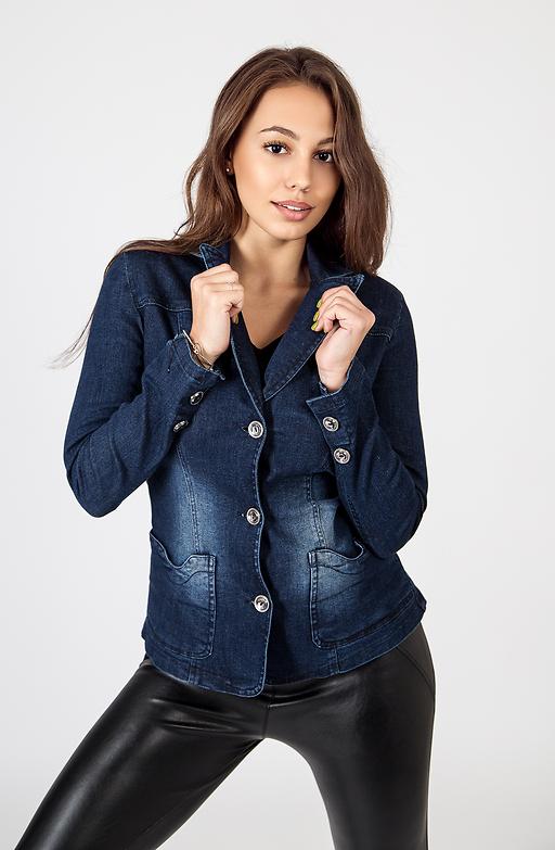 Дамско сако от деним